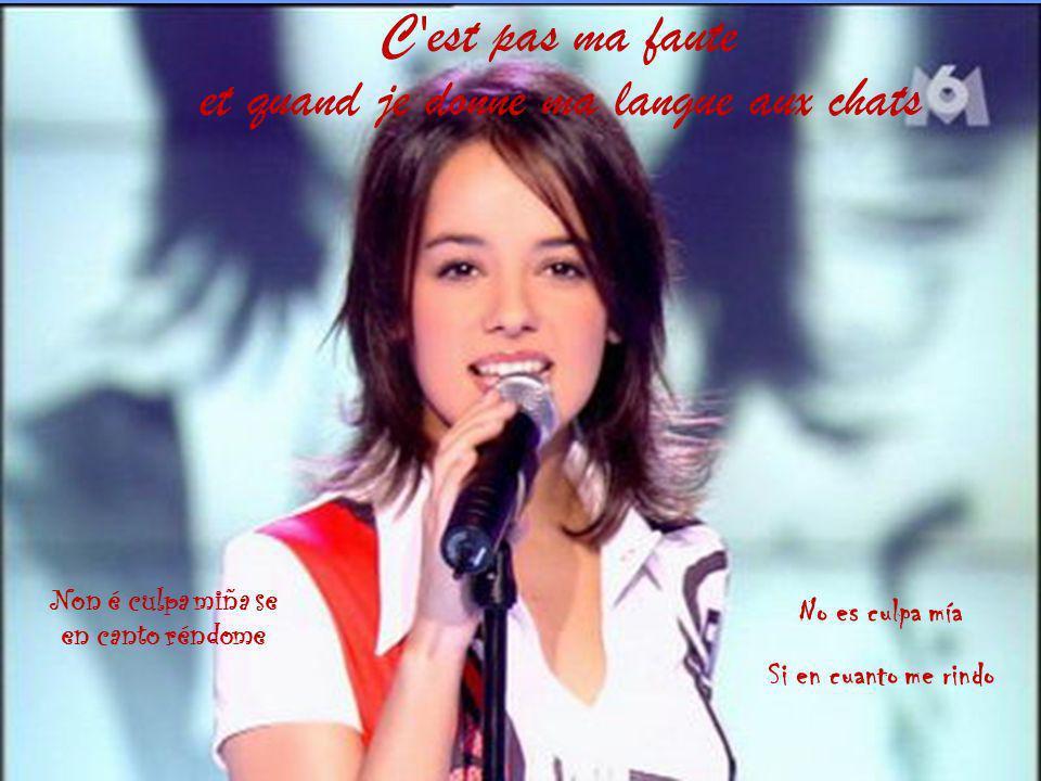 Elle prend des cours de chants depuis 1997 environ car elle s aperçut que sa voix était particulière et très belle.