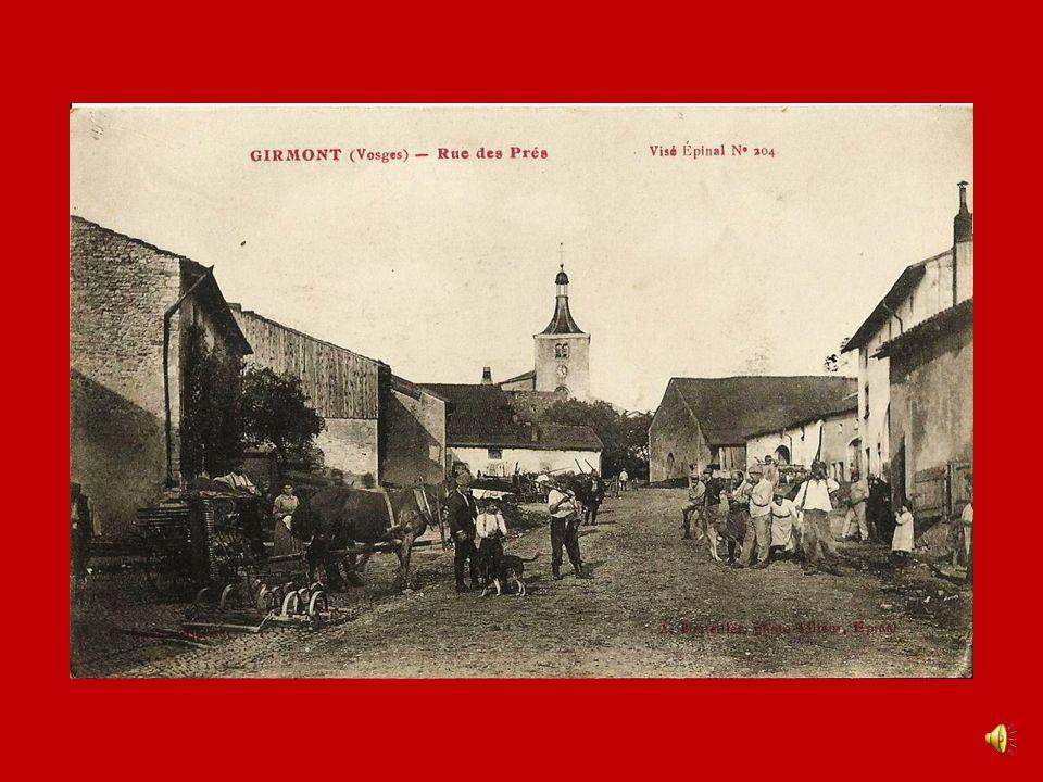 Thaon-les-Vosges- Village suisse Ma chère Angèle Je pensais recevoir de tes nouvelles aujourdhui mais rien, tu pourrais mécrire plus souvent, avez-vou