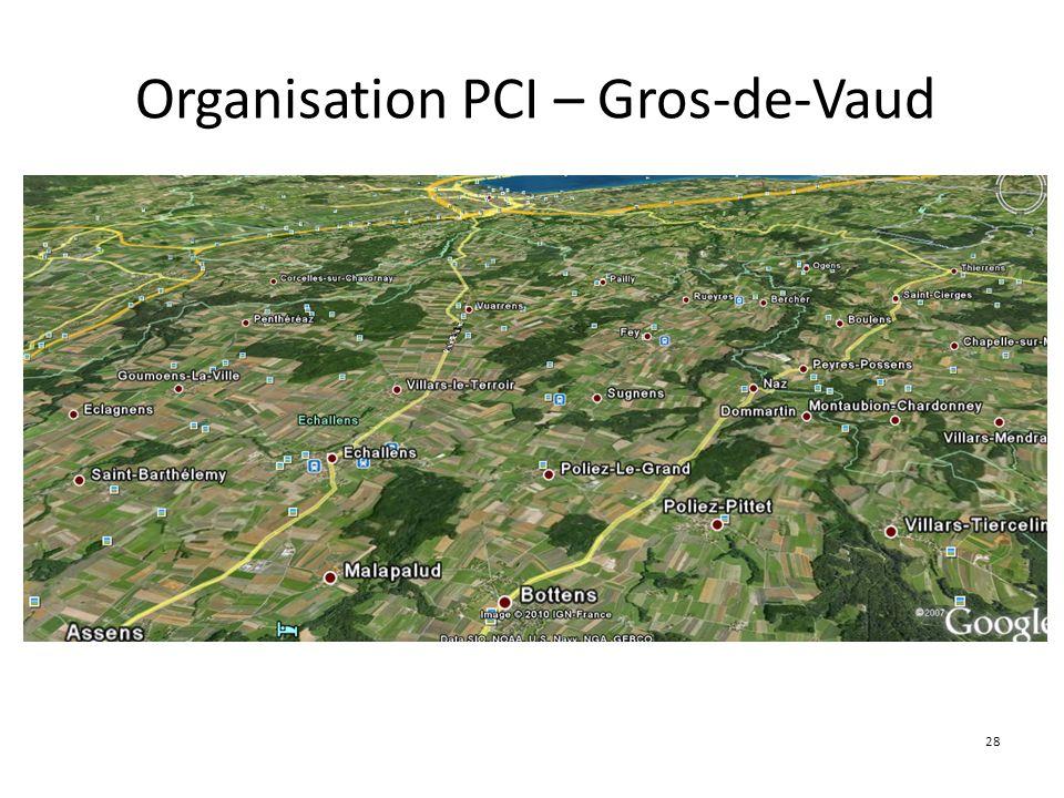 28 Organisation PCI – Gros-de-Vaud