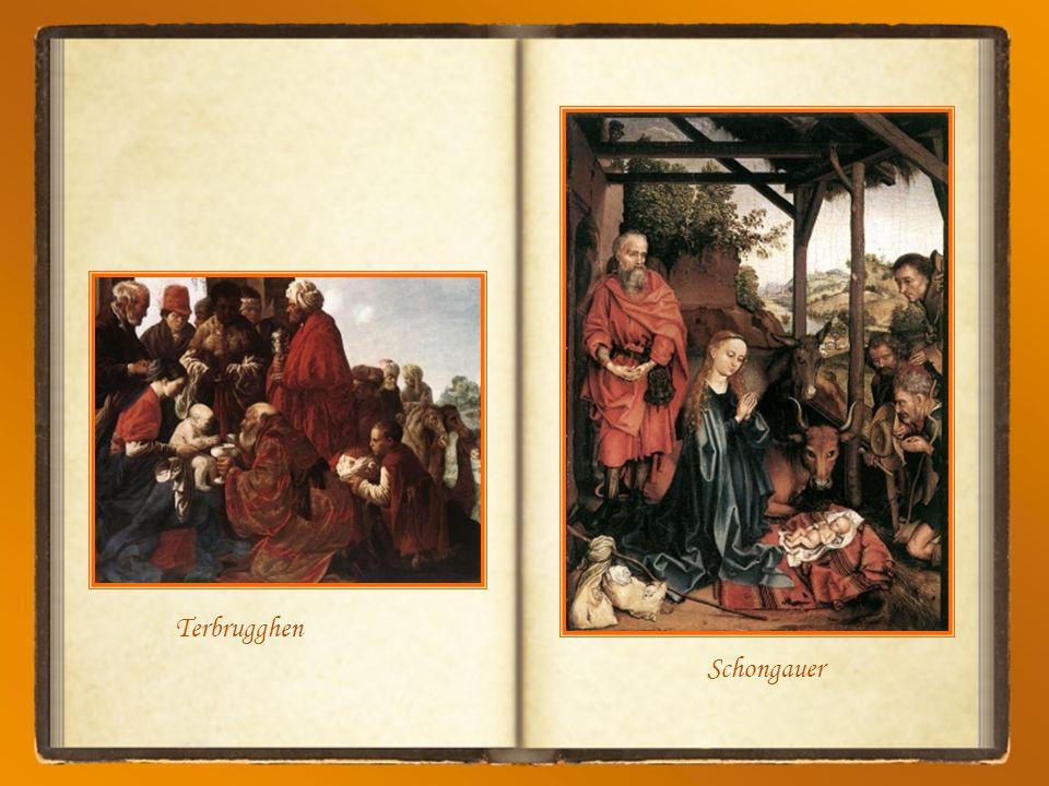Ghirlandaio D Tout en se taisant, lEnfant Jésus enseigne plusieurs choses à partir de la crèche… particulièrement lhumilité, la pauvreté et la patienc