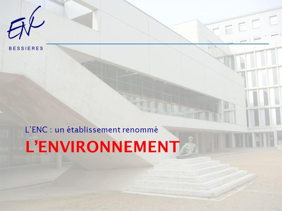 LENC : un établissement renommé LENVIRONNEMENT