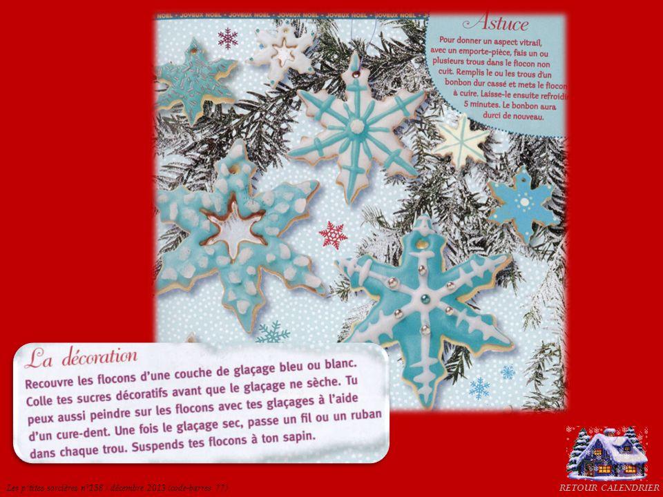 RETOUR CALENDRIERLes ptites sorcières n°158 / décembre 2013 (code-barres ??)