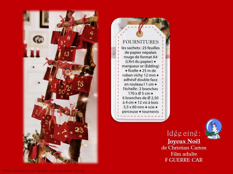 RETOUR CALENDRIER Idée ciné : Mardi, après Noël Film adulte F DRAME MUN Cuisine Actuelle Hors-Série n°107H / décembre 2013 (code-barres 251341)