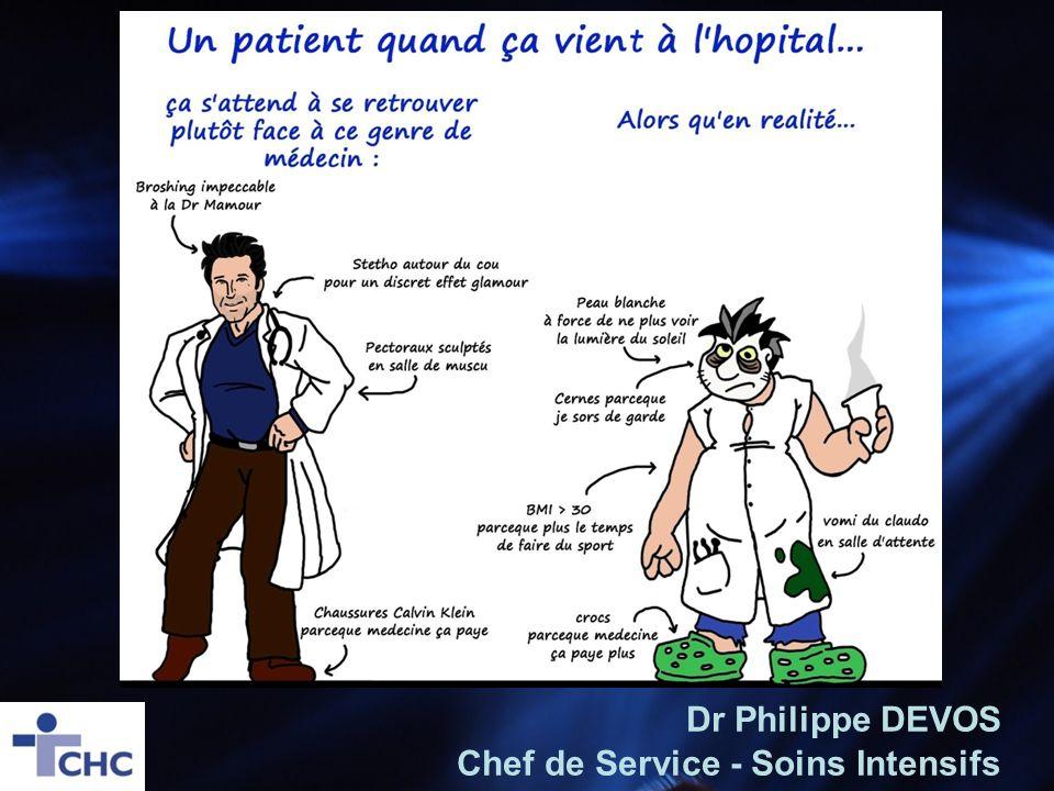 Dr Philippe DEVOS Chef de Service - Soins Intensifs