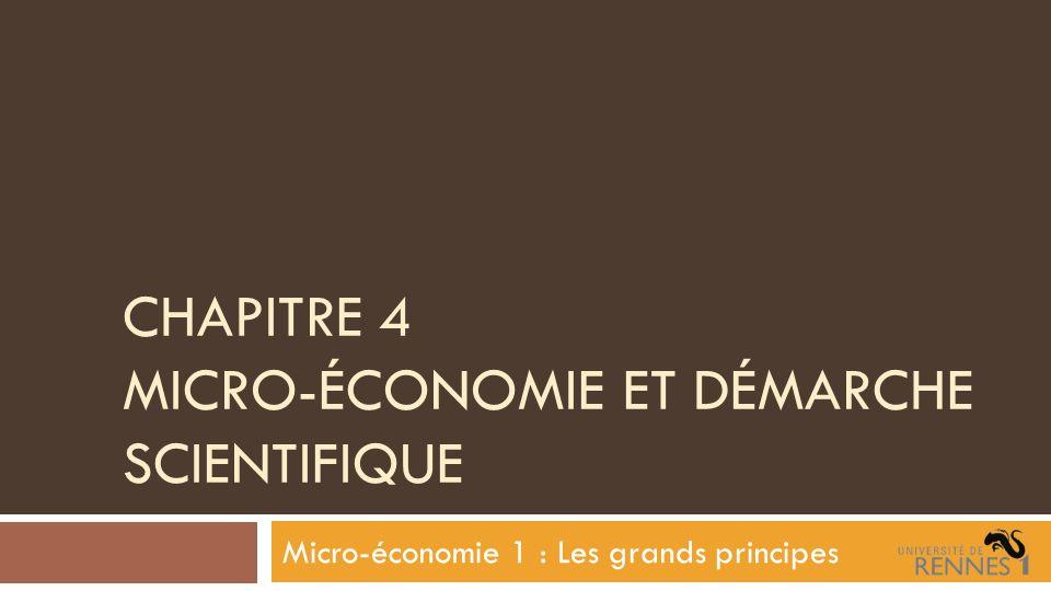 3-3 Critères de scientificité en économie Critères dévaluation chez Thomas Samuel Khun.