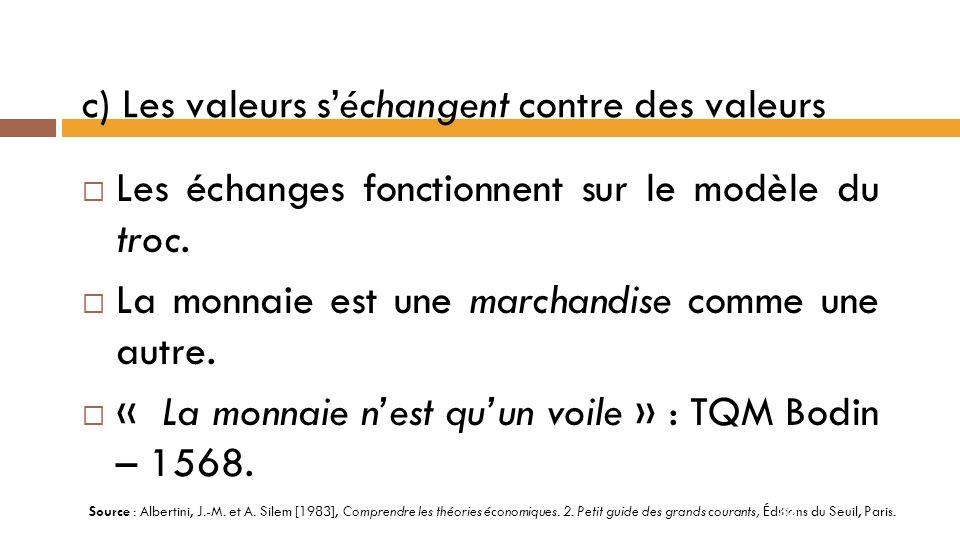 b) Le marché comme institution régulatrice Le marché est linstrument le plus efficace pour la circulation des informations.