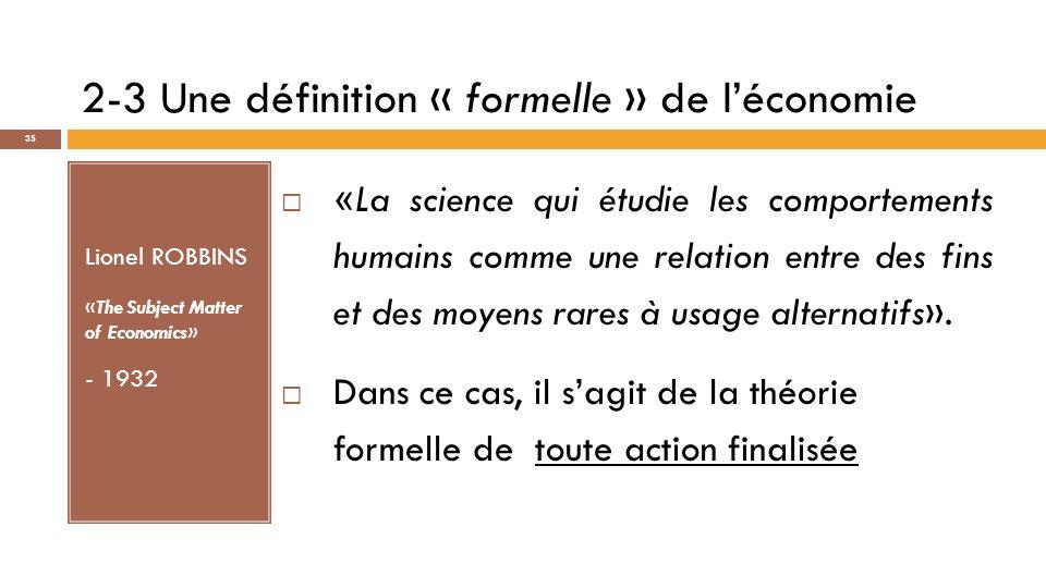Source : Albertini, J.-M.et A. Silem [1983], Comprendre les théories économiques.