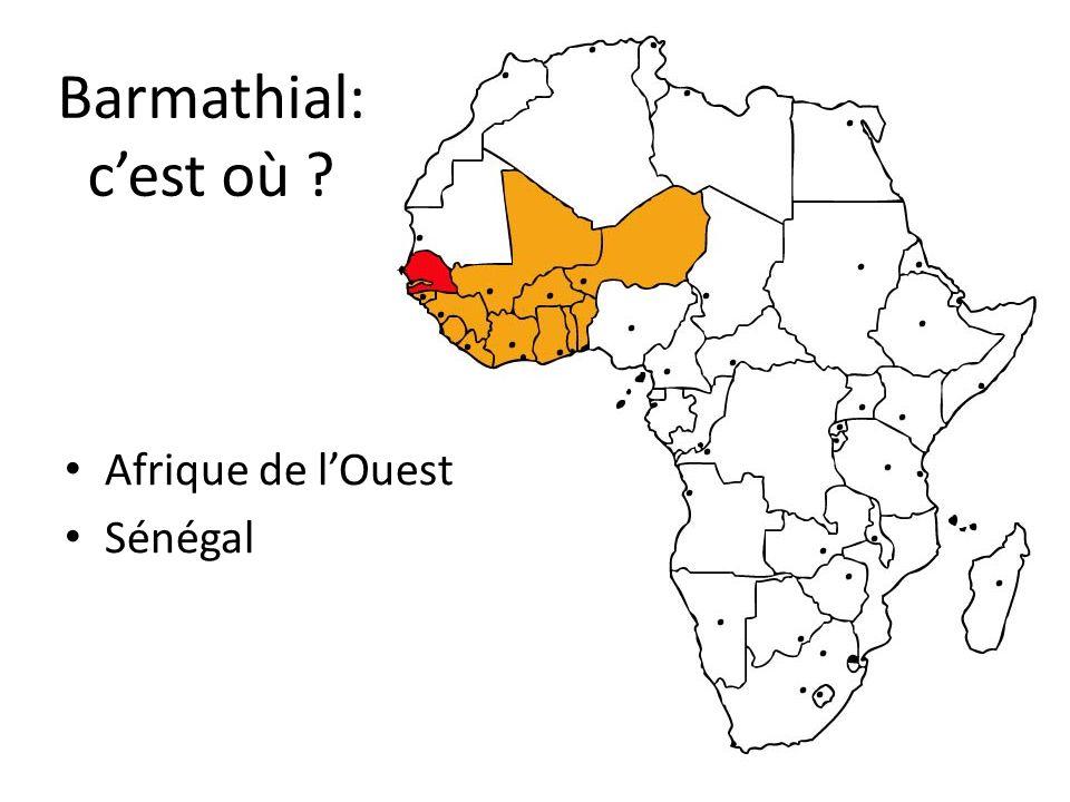 Barmathial: cest où ? Afrique de lOuest Sénégal