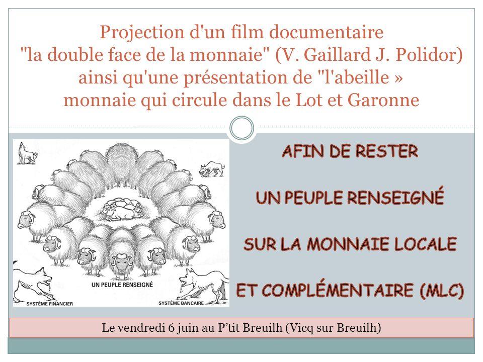 Projection d'un film documentaire