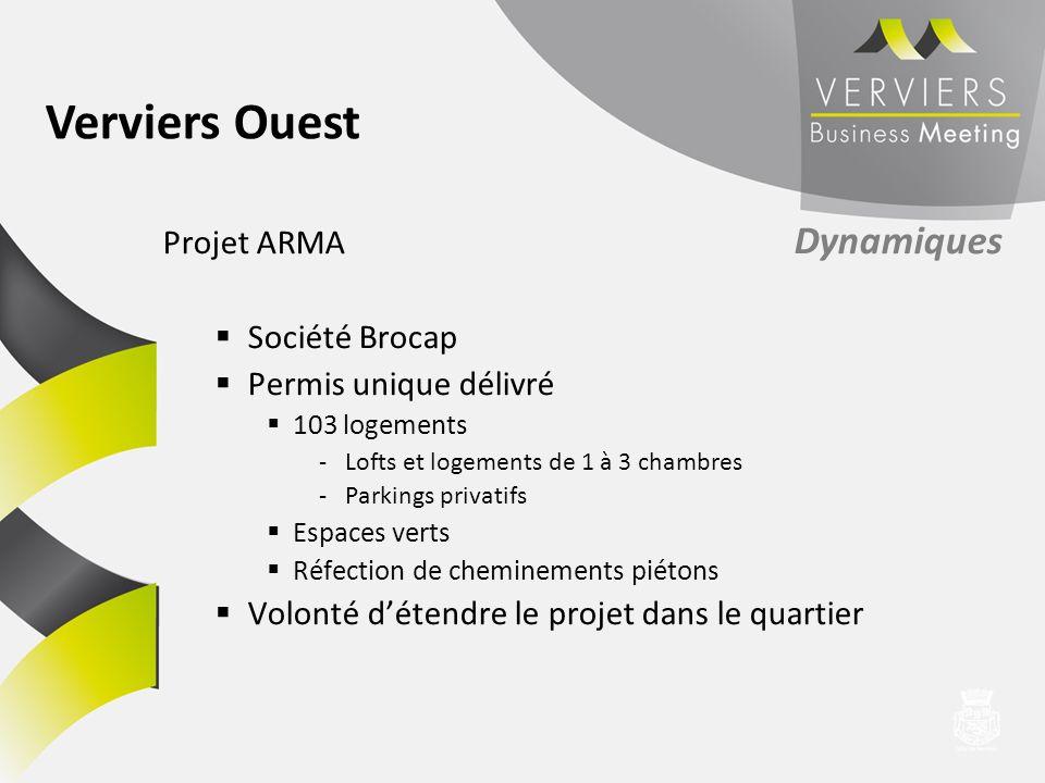 Projet ARMA Dynamiques Société Brocap Permis unique délivré 103 logements -Lofts et logements de 1 à 3 chambres -Parkings privatifs Espaces verts Réfe