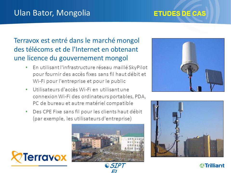 Ulan Bator, Mongolia Terravox est entré dans le marché mongol des télécoms et de l'Internet en obtenant une licence du gouvernement mongol En utilisan
