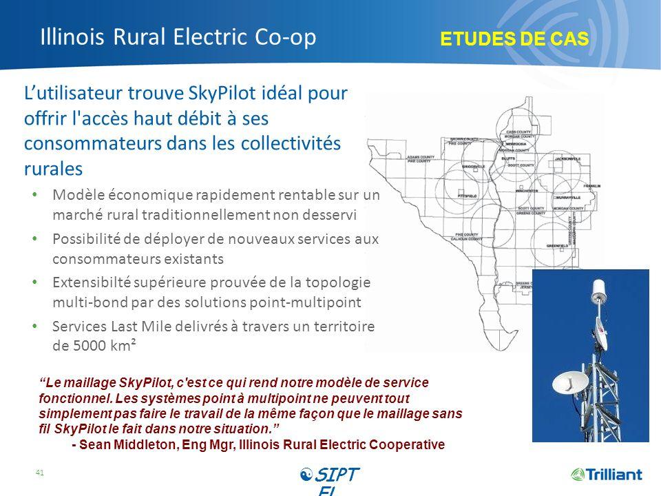Illinois Rural Electric Co-op Lutilisateur trouve SkyPilot idéal pour offrir l'accès haut débit à ses consommateurs dans les collectivités rurales Mod