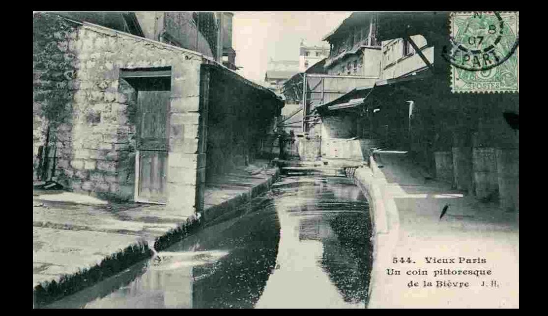 Une vue du vieux Paris, à la porte de Vanves. Photographie d'Eugène Atge t.