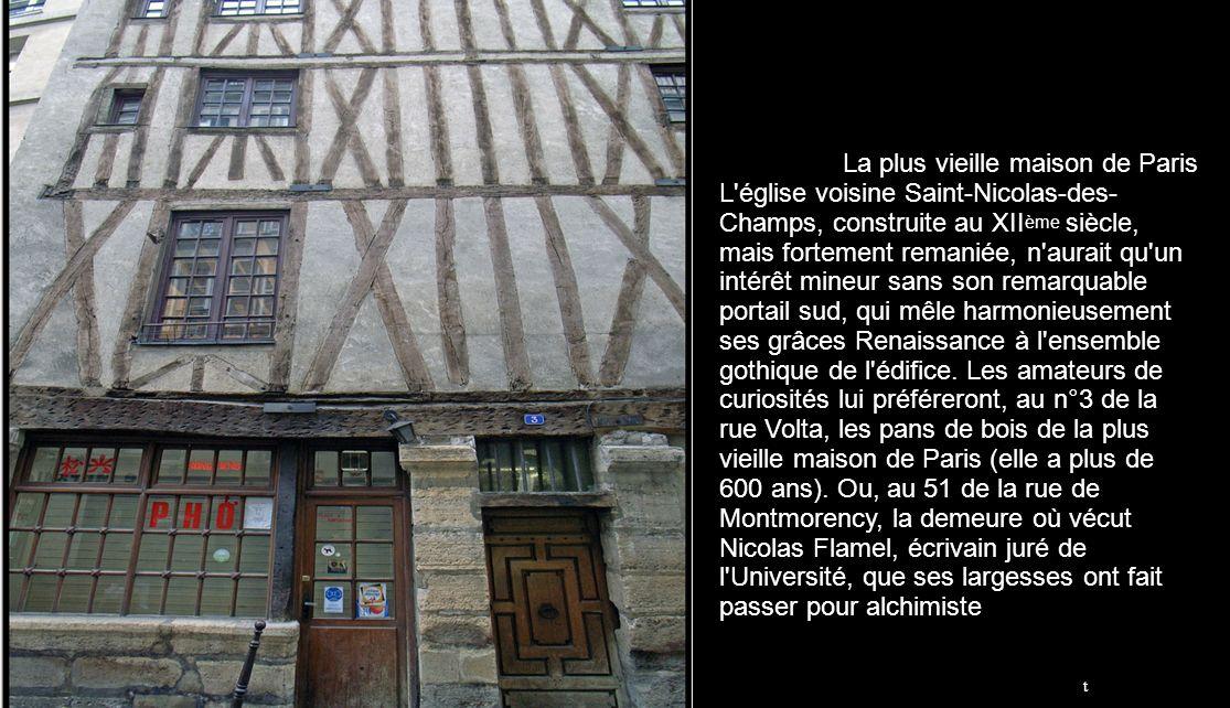 La voiture Grande échelle Le plus vieux bistrot de Paris ParisParis > 4ème arrondissement > Île de la Cité > Noir et blanc4ème arrondissementÎle de la
