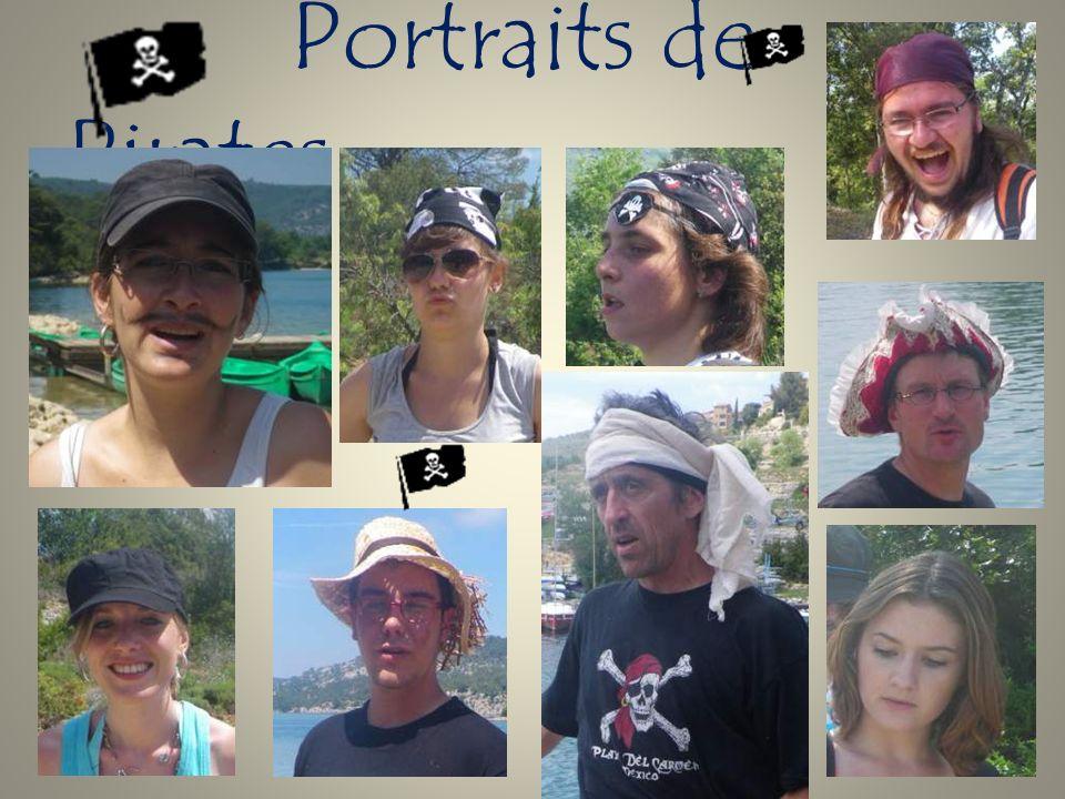 Portraits de Pirates