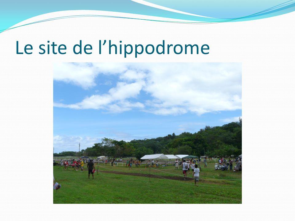 Le site de lhippodrome