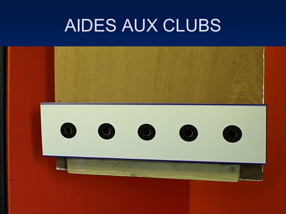 AIDES AUX CLUBS