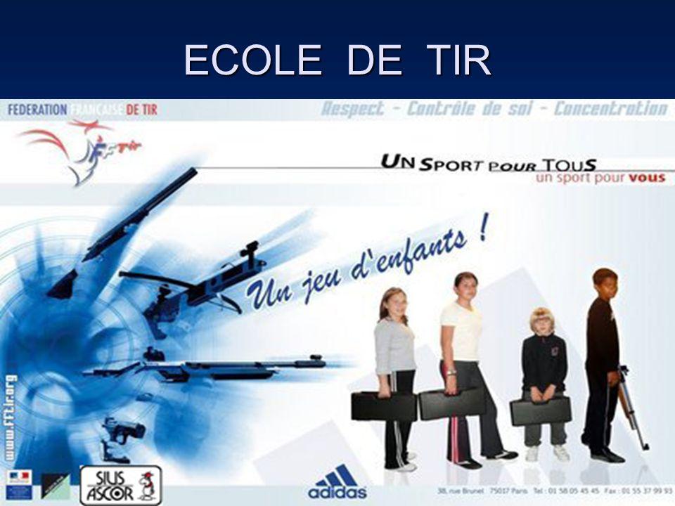 Ecole de Tir 2012 7 Clubs les plus représentatifs : 106 licenciés / 151 soit : 70 % 7 Clubs les plus représentatifs : 106 licenciés / 151 soit : 70 % - Mancieulles ( 22 ) - Briey( 17 ) - Lunéville ( 15 ) - Neuves-Maisons ( 11 ) - Jarny ( 11 ) - Longwy ( 10 ) - Thiaucourt ( 10 ) - Toul ( 10 ) 12 Clubs ont participé aux Départementaux ( de 1 licencié à 15 ) pour 73 tirs 12 Clubs ont participé aux Départementaux ( de 1 licencié à 15 ) pour 73 tirs
