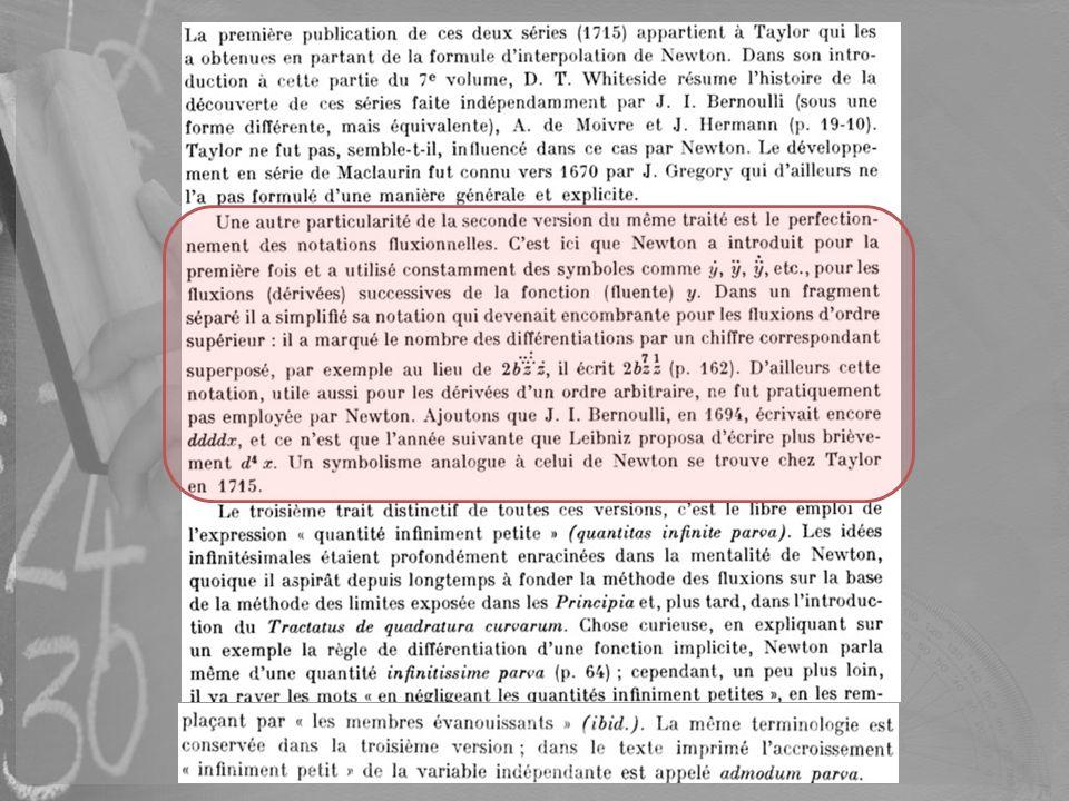 Cette traduction est ainsi importante non seulement dun point de vue scientifique mais aussi méthodologique, ce que salue dAlembert dans lEncyclopédie où il écrit, en citant le travail de M me Du Châtelet : « quelques auteurs ont tenté de rendre la philosophie newtonienne plus facile à entendre ».