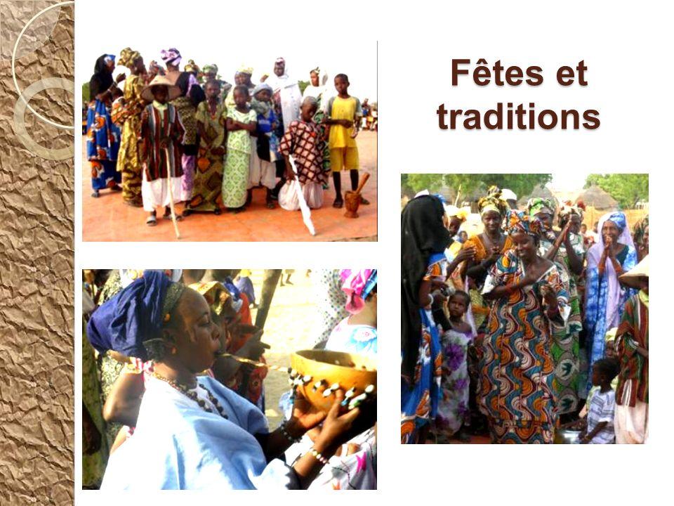 Lors de la célébration du mariage, la femme mandingue arrive complètement voilée. Des femmes laccompagnent en dansant et en chantant. Elles utilisent