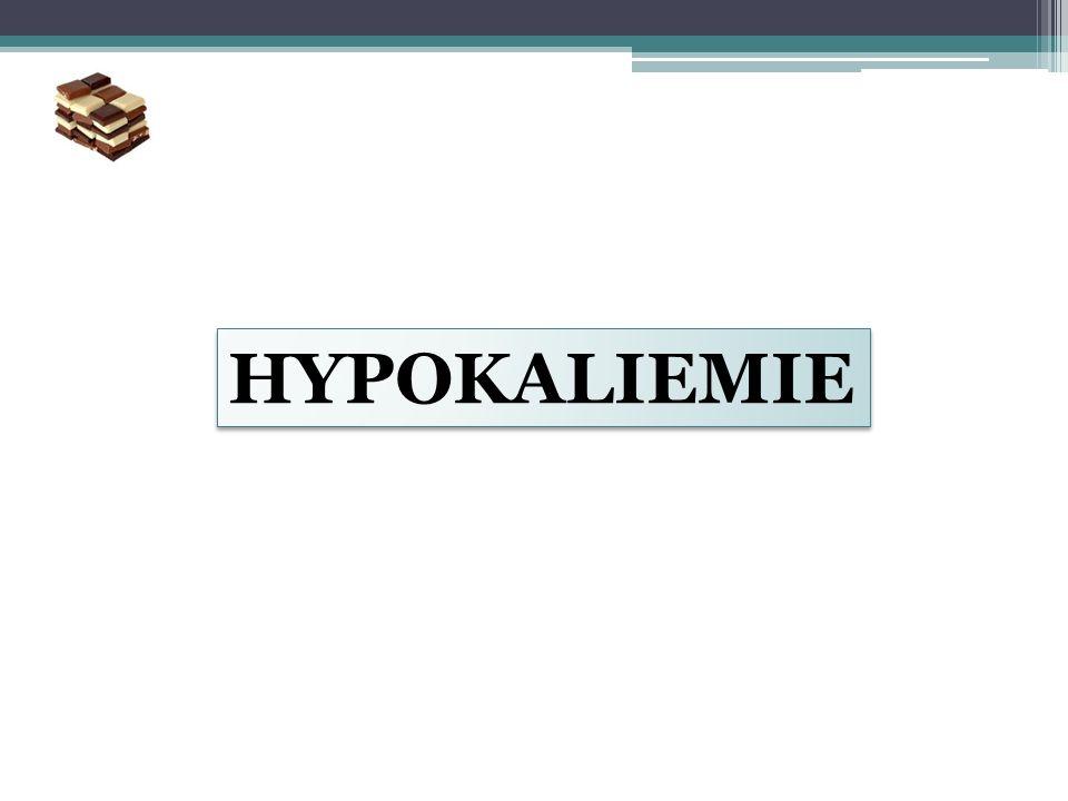 HYPOKALIEMIE