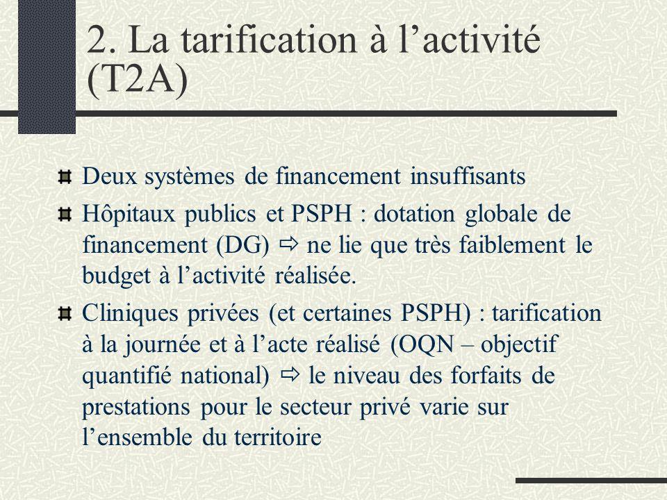 Des effets pervers Deux systèmes de financement ni comparables ni compatibles Rentes de situation pour certains établissements, pénuries pour les autres.