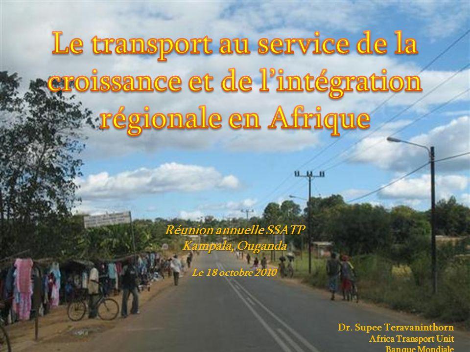 1 Réunion annuelle SSATP Kampala, Ouganda Le 18 octobre 2010 Dr.