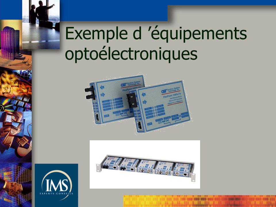 Exemple d équipements optoélectroniques