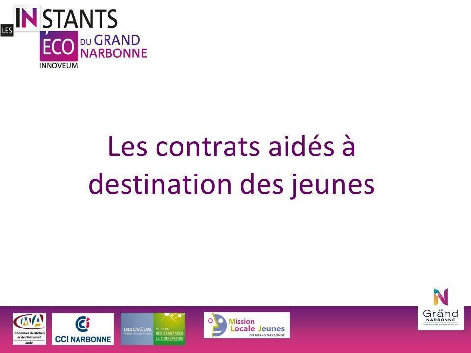 Les contrats aidés à destination des jeunes