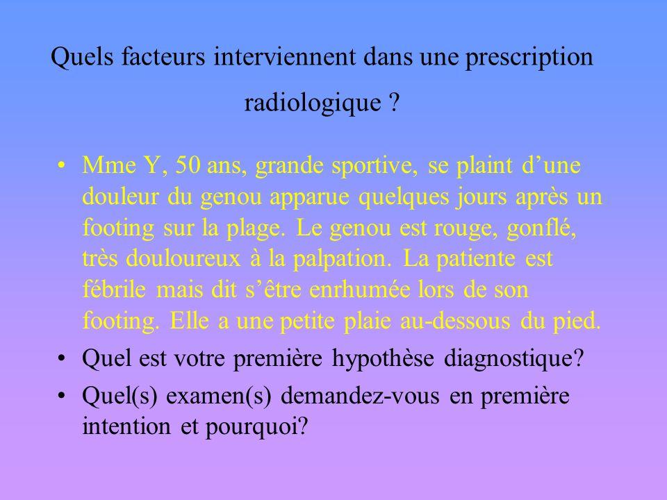 Lenvironnement et lépoque –Sinusite 1980 Radio 2000 Scanner –Douleur abdo: 1970 Laparo, 1980 Echo, 1990 Scanner Le niveau dexpertise dans un processus