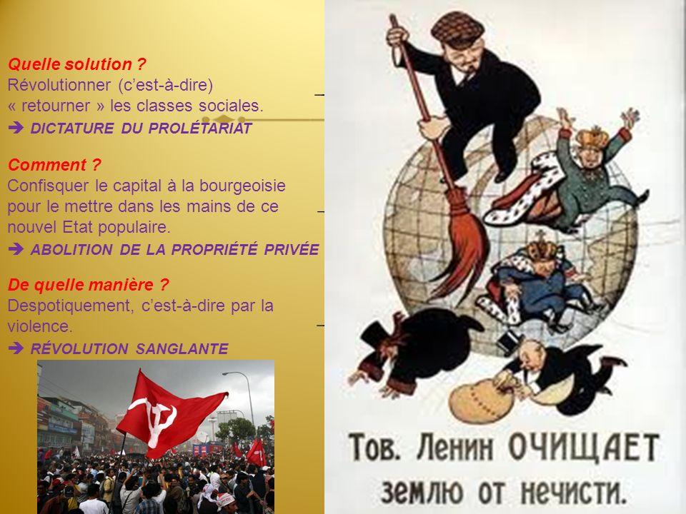 Le premier pas dans la révolution ouvrière est la montée du prolétariat au rang de classe dominante, la conquête de la démocratie. Le prolétariat se s