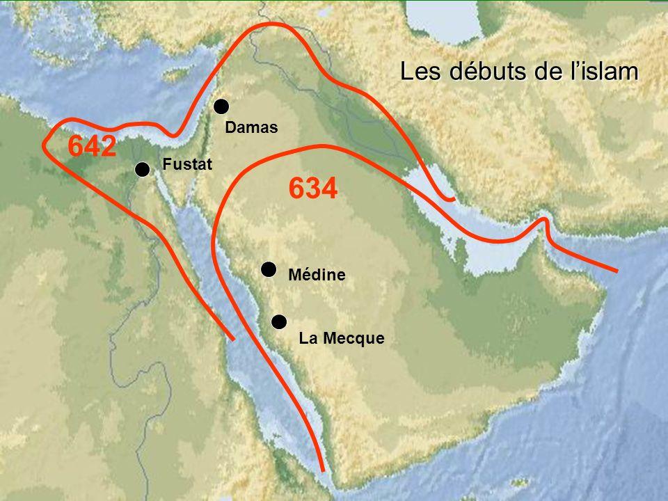 Les débuts de lislam Médine La Mecque Fustat Damas 634 642