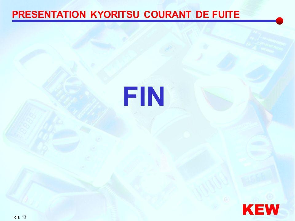 dia 13 PRESENTATION KYORITSU COURANT DE FUITE KEW FIN