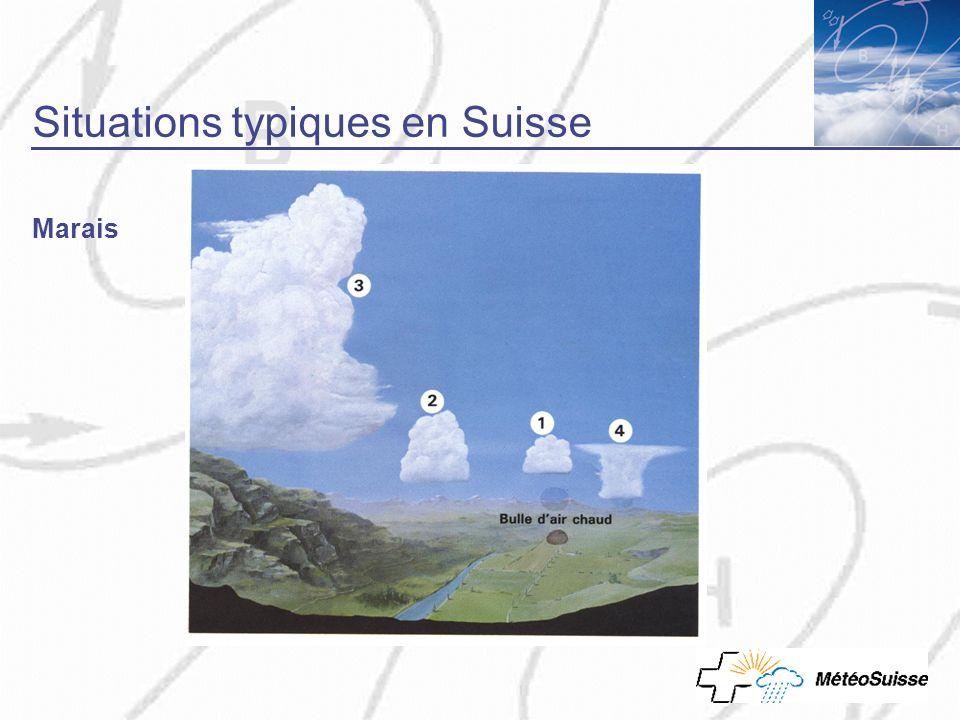Situations typiques en Suisse Marais