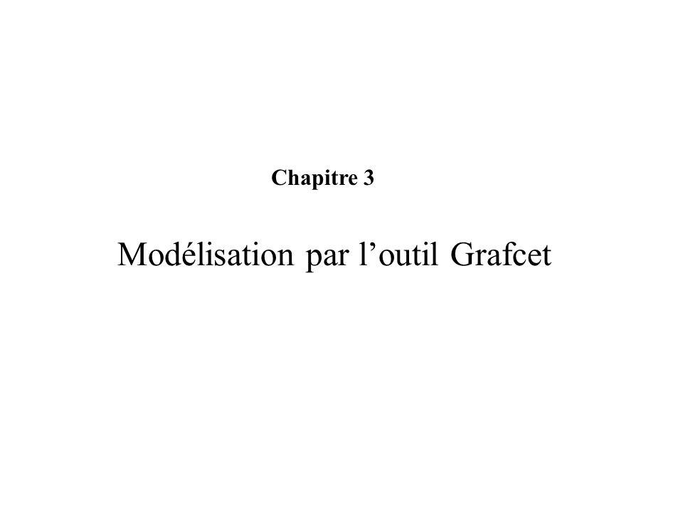 Modélisation par loutil Grafcet Chapitre 3