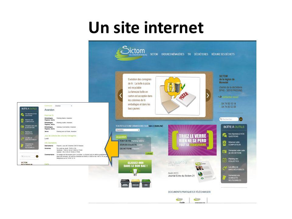 Un site internet