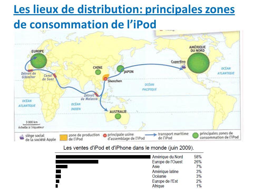 LiPod, un produit mondialisé