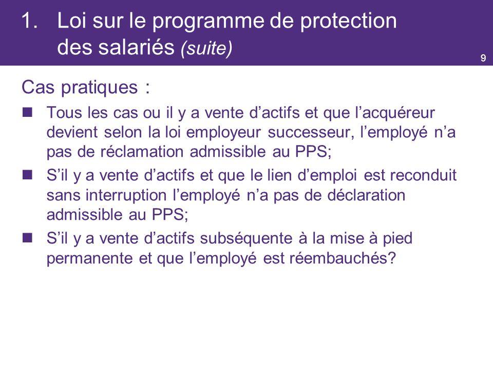9.Résiliation de contrats (suite) (Art.
