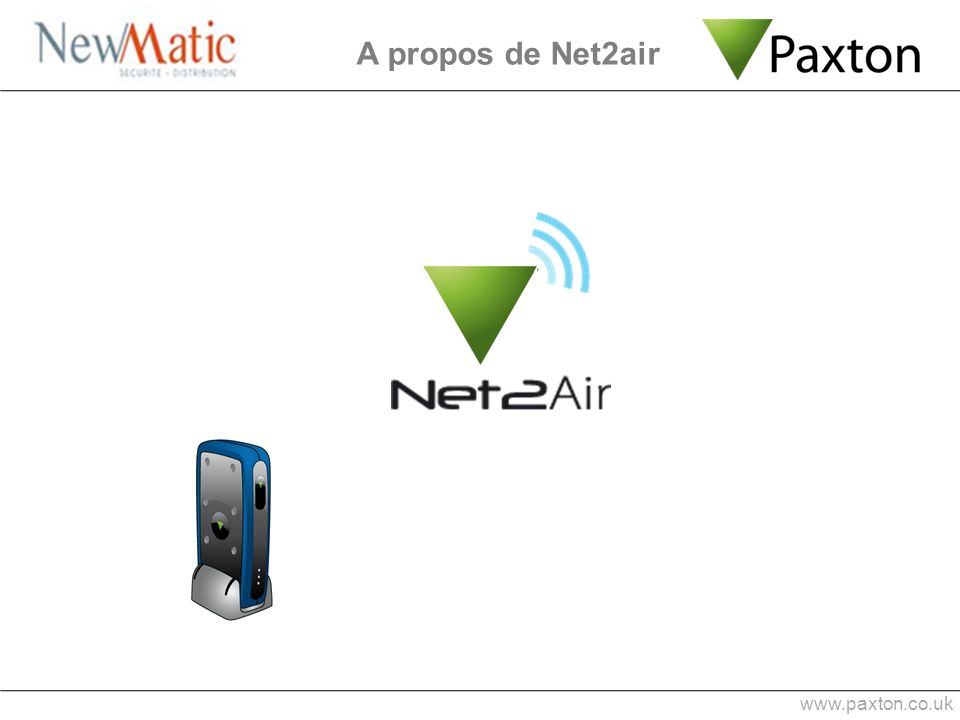 A propos de Net2air www.paxton.co.uk