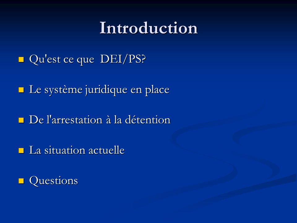 Introduction Qu est ce que DEI/PS. Qu est ce que DEI/PS.