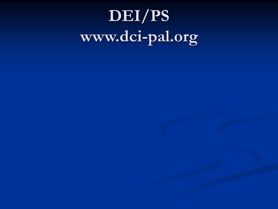 DEI/PS www.dci-pal.org
