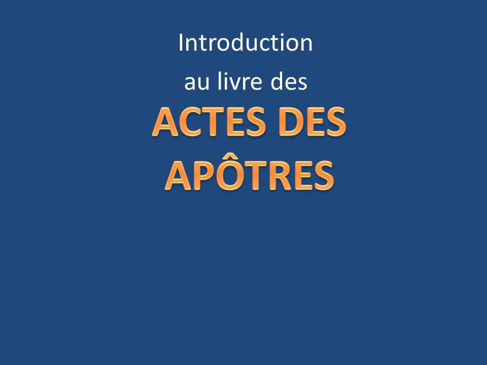 Introduction au livre des