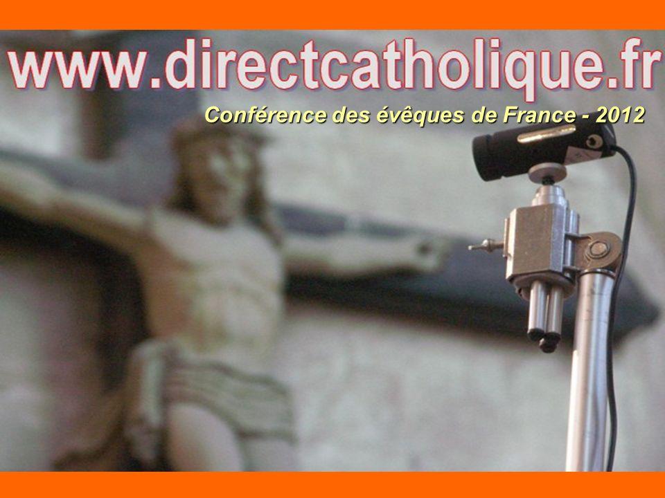 Conférence des évêques de France - 2012
