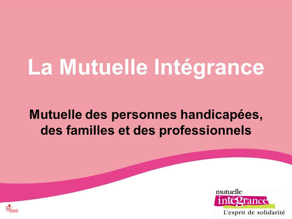 La Mutuelle Intégrance Mutuelle des personnes handicapées, des familles et des professionnels