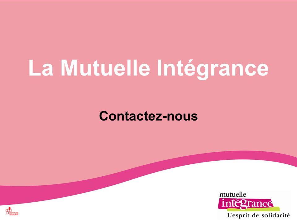 La Mutuelle Intégrance Contactez-nous
