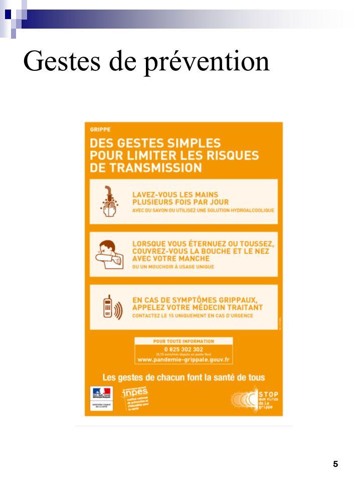 Gestes de prévention 5