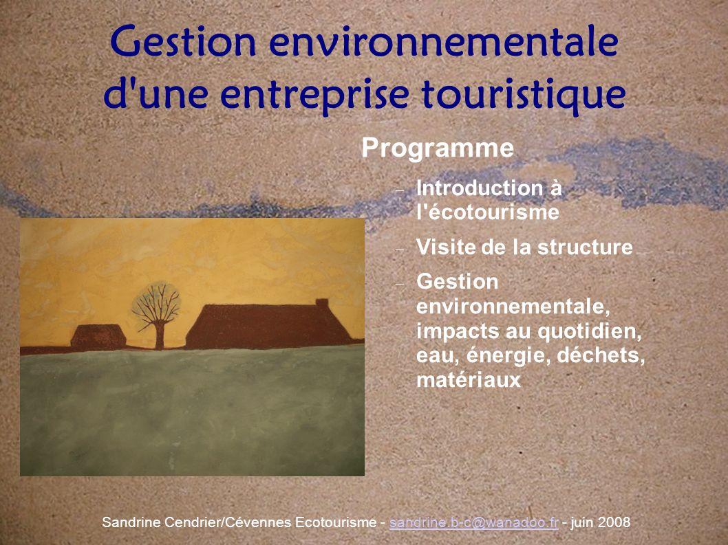 Pourquoi engager une démarche de gestion environnementale .
