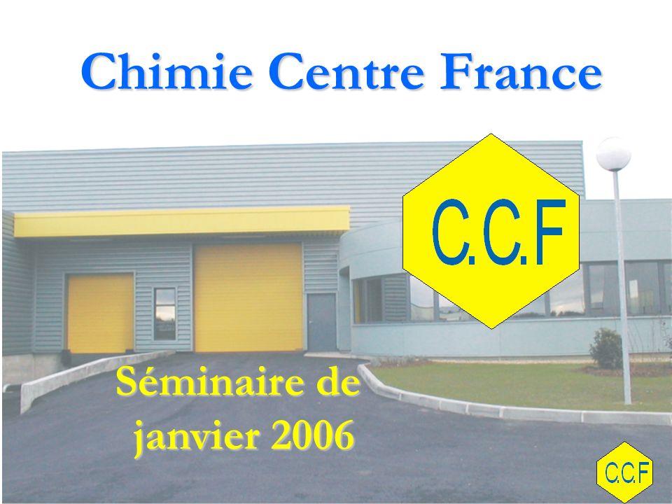 Chimie Centre France Séminaire de janvier 2006