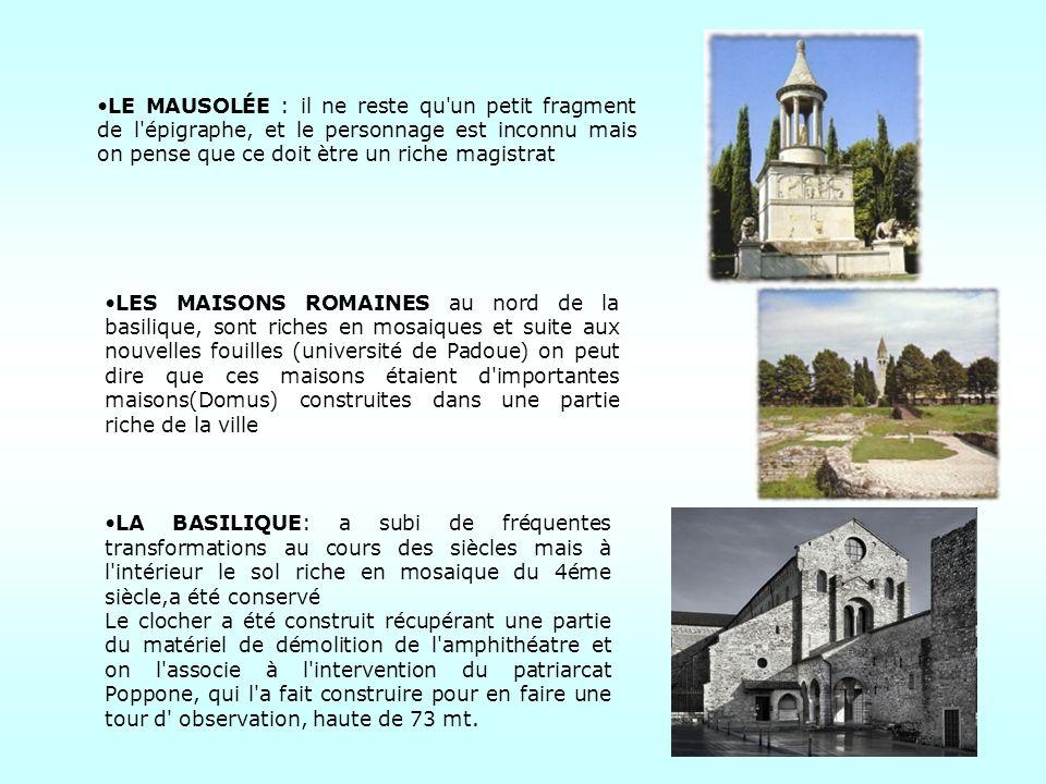 En 1690 le comte Antoine de Savorgnan entreprit le premier projet d assainissement, qui permit le développement de la zone de Zuino, qui s appellera tour de Zuino.