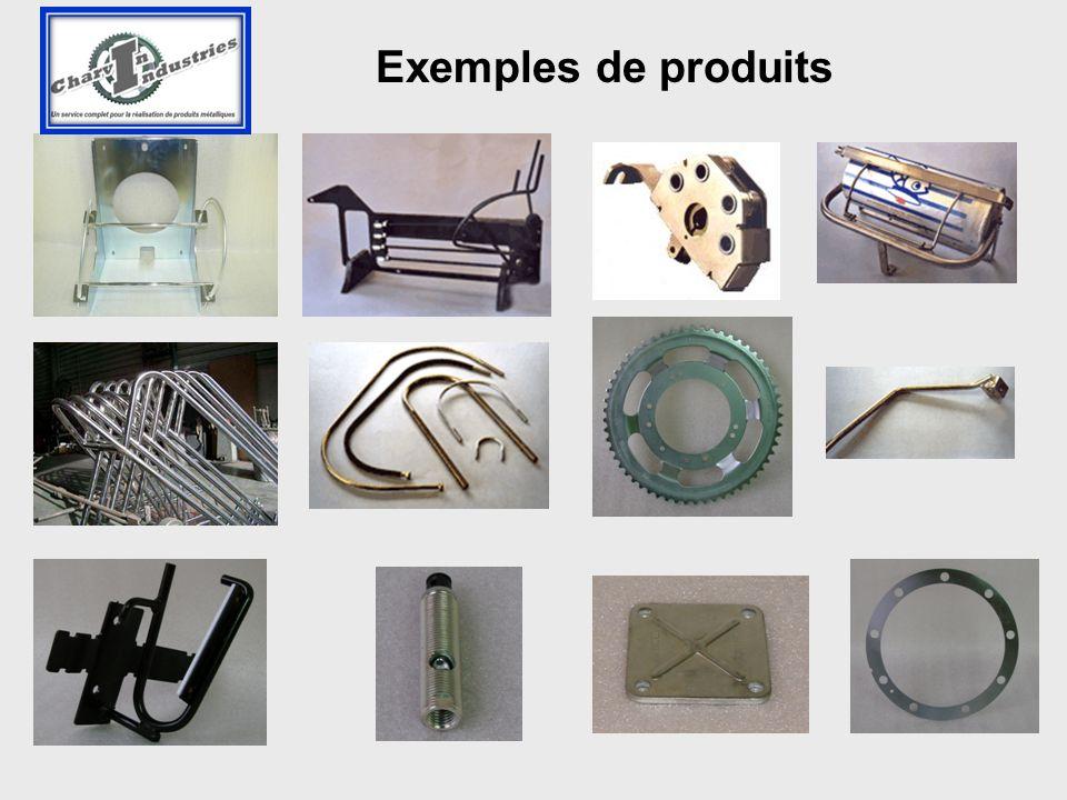 Exemples de produits